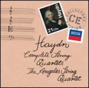 CD Quartetti per archi completi di Franz Joseph Haydn
