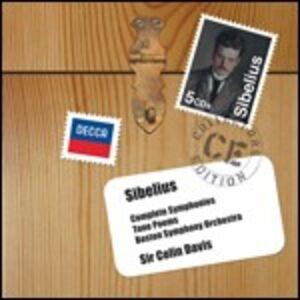 CD Sinfonie complete - Poemi sinfonici di Jean Sibelius