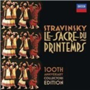 Foto Cover di La sagra della Primavera, CD di Igor Stravinsky, prodotto da Decca