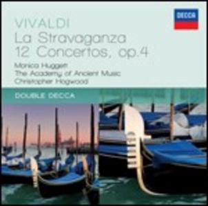 CD La Stravaganza. 12 Concerti op.4 di Antonio Vivaldi