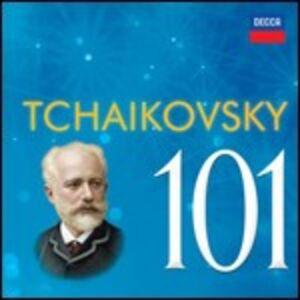 CD Tchaikovsky 101 di Pyotr Il'yich Tchaikovsky