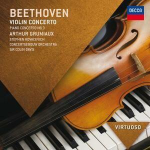 CD Concerto per violino - Concerto per pianoforte n.3 di Ludwig van Beethoven