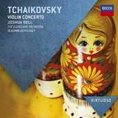 CD Concerto per violino Pyotr Il'yich Tchaikovsky Vladimir Ashkenazy Joshua Bell