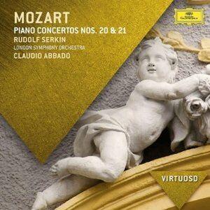 Foto Cover di Concerti per pianoforte n.20, n.21, CD di AA.VV prodotto da Decca