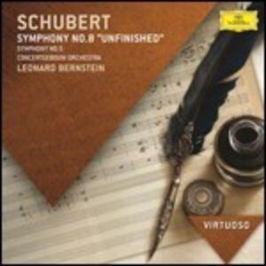 CD Sinfonie n.5, n.8 di Franz Schubert