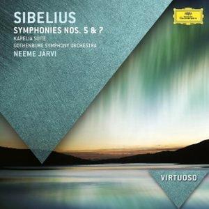 CD Sinfonie n.5, n.7 di Jean Sibelius