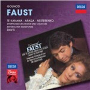 Foto Cover di Faust, CD di AA.VV prodotto da Decca