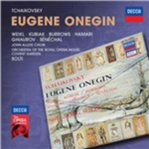 CD Eugene Onegin di Pyotr Il'yich Tchaikovsky