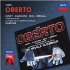 CD Oberto di Giuseppe Verdi