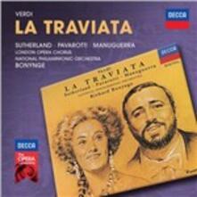 La Traviata - CD Audio di Luciano Pavarotti,Joan Sutherland,Matteo Manuguerra,Giuseppe Verdi,Richard Bonynge,National Philharmonic Orchestra