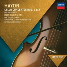 Concerti per violoncello - Concerto per violino - CD Audio di Franz Joseph Haydn,Pinchas Zukerman,Neville Marriner,Academy of St. Martin in the Fields,Heinrich Schiff