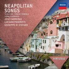 Canzoni napoletane - CD Audio di Luciano Pavarotti,Giuseppe Di Stefano