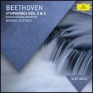 CD Sinfonie n.2, n.4 di Ludwig van Beethoven