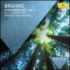 CD Sinfonie n.1, n.3 di Johannes Brahms