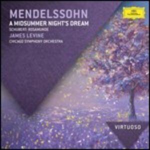 CD Sogno di una notte di mezza estate / Rosamunde Franz Schubert , Felix Mendelssohn-Bartholdy