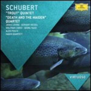 Foto Cover di Quintetto La trota - La morte e la fanciulla, CD di AA.VV prodotto da Decca