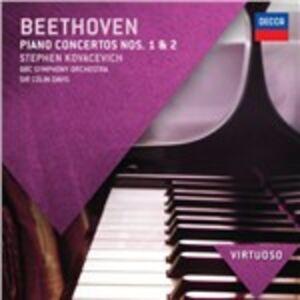 Foto Cover di Concerti per pianoforte n.1, n.2, CD di AA.VV prodotto da Decca