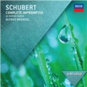 CD Improvvisi completi di Franz Schubert