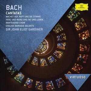 CD Cantate 106, 140, 147 di Johann Sebastian Bach