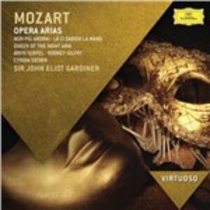 CD Opera Arias di Wolfgang Amadeus Mozart