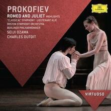 Romeo e Giulietta - CD Audio di Sergej Sergeevic Prokofiev,Seiji Ozawa,Charles Dutoit,Berliner Philharmoniker,Boston Symphony Orchestra