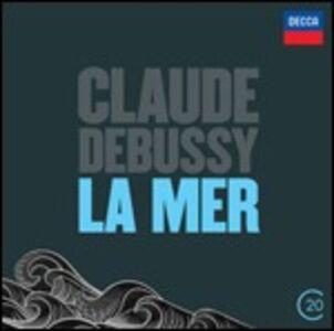 CD La mer - Prélude à l'après-midi d'un faune - Nocturnes - Jeux di Claude Debussy
