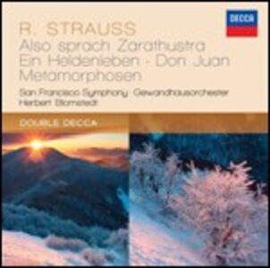 CD Also Sprach Zarathustra - Don Juan - Ein Heldenleben - Metamorphosen di Richard Strauss