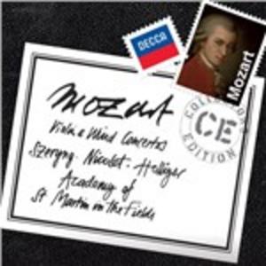 CD Concerti per violino e strumenti a fiato di Wolfgang Amadeus Mozart