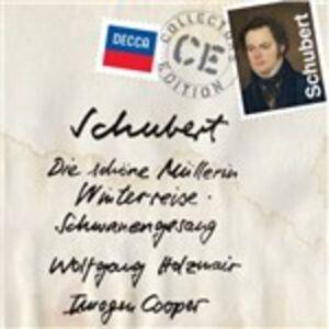 Foto Cover di Lieder, CD di Franz Schubert,Wolfgang Holzmair, prodotto da Decca
