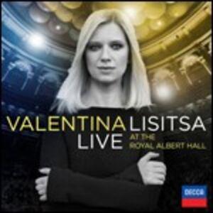 Foto Cover di Live at the Royal Albert Hall, CD di Valentina Lisitsa, prodotto da Decca