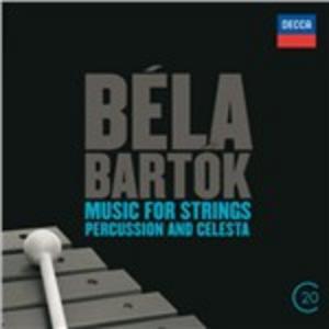 CD Musica per archi, percussioni e celesta di Bela Bartok