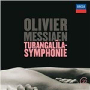Foto Cover di Sinfonia Turangalila, CD di AA.VV prodotto da Decca