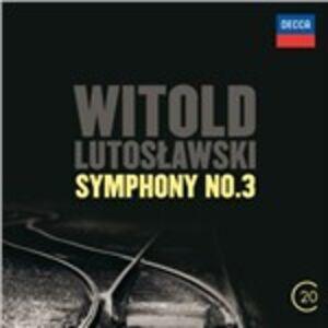 CD Sinfonia n.3 di Witold Lutoslawski