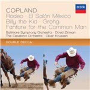 CD Musica orchestrale di Aaron Copland