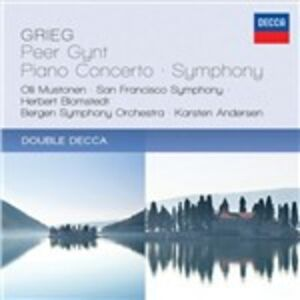 CD Peer Gynt - Concerto per pianoforte di Edvard Grieg