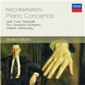 CD Concerti per pianoforte di Sergei Vasilevich Rachmaninov