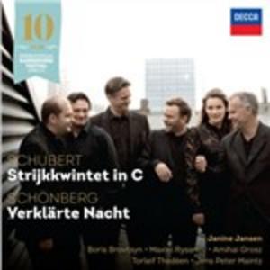 CD Quintetto per archi in Do / Notte trasfigurata (Verklärte Nacht) Arnold Schönberg , Franz Schubert