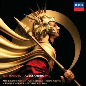 CD Alessandro di Georg Friedrich Händel