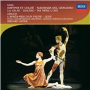 CD Musica orchestrale Claude Debussy , Maurice Ravel