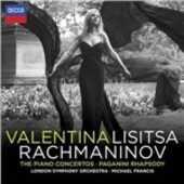 CD Concerti per pianoforte completi - Rapsodia su un tema di Paganini Sergej Vasilevich Rachmaninov Valentina Lisitsa