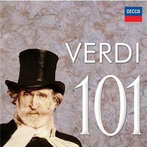 CD Verdi 101 di Giuseppe Verdi