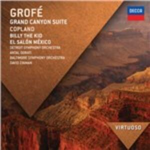CD Grand Canyon Suite / Billy the Kid - El Salón México Aaron Copland , Ferde Grofé