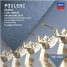 Gloria - Stabat Mater - CD Audio di Francis Poulenc,Charles Dutoit,Philharmonia Orchestra