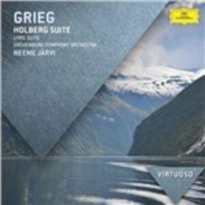 CD Holberg Suite - Suite lirica di Edvard Grieg