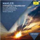 CD Sinfonia n.2 Gustav Mahler Rafael Kubelik Orchestra Sinfonica della Radio Bavarese