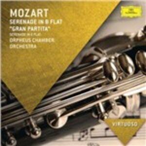 Foto Cover di Serenata Gran Partita, CD di Wolfgang Amadeus Mozart,Orpheus Chamber Orchestra, prodotto da Deutsche Grammophon