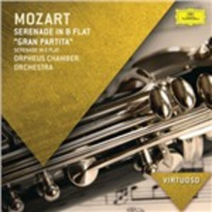 CD Serenata Gran Partita di Wolfgang Amadeus Mozart