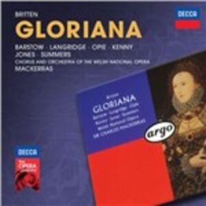 CD Gloriana di Benjamin Britten