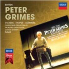 Peter Grimes - CD Audio di Benjamin Britten,Sir Colin Davis,Covent Garden Orchestra,Jon Vickers,Heather Harper