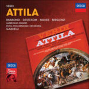 CD Attila di Giuseppe Verdi